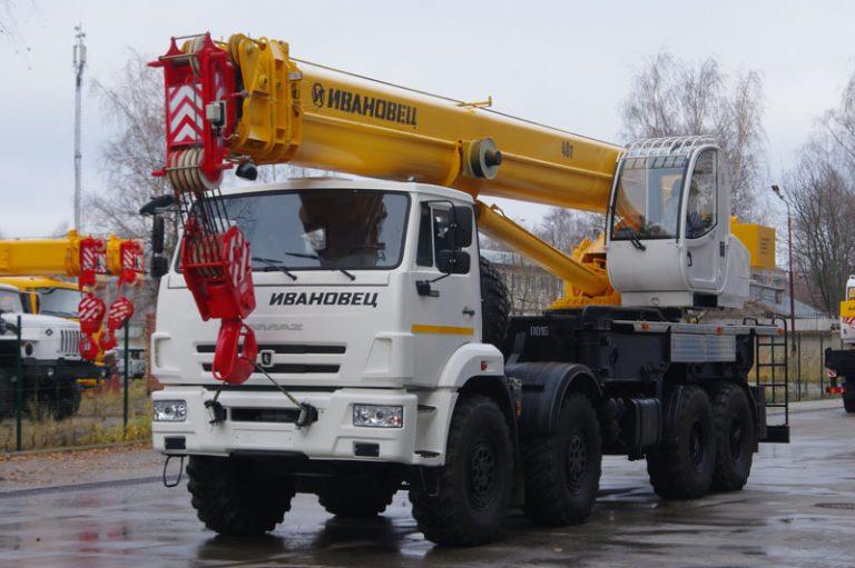 Автокран Ивановец  25 тонн с гуськом