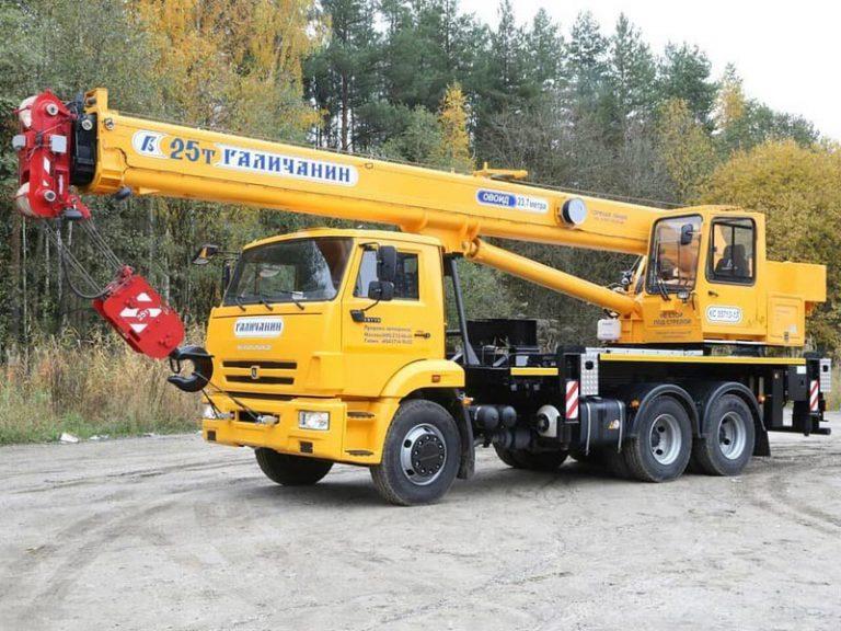 Автокран Галичанин  25 тонн 22 метра