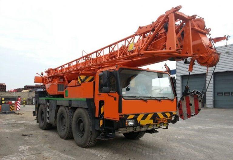 Автокран Liebherr  40 тонн 30 метров