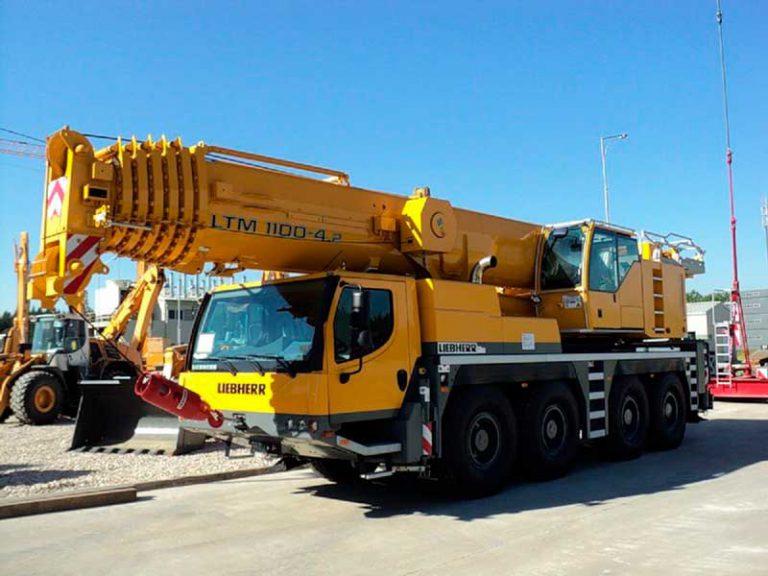 Автокран Liebherr  100 тонн 60 метров