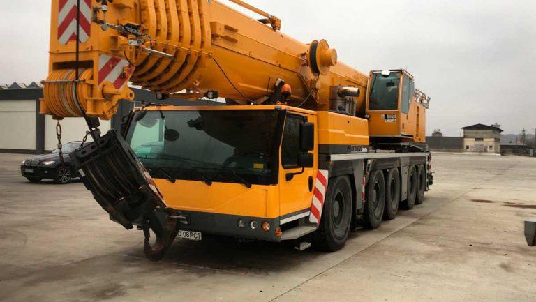 Автокран Liebherr  200 тонн 72 метра