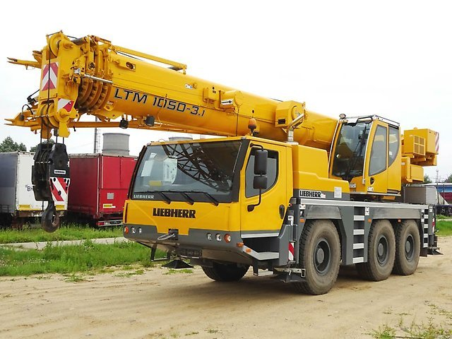 Автокран Liebherr  50 тонн 40 метров