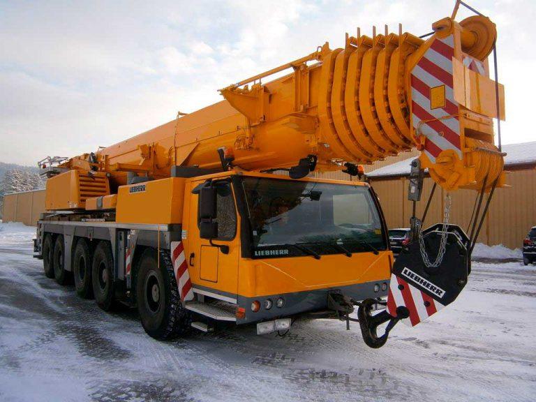Автокран Liebherr  120 тонн 52 метра