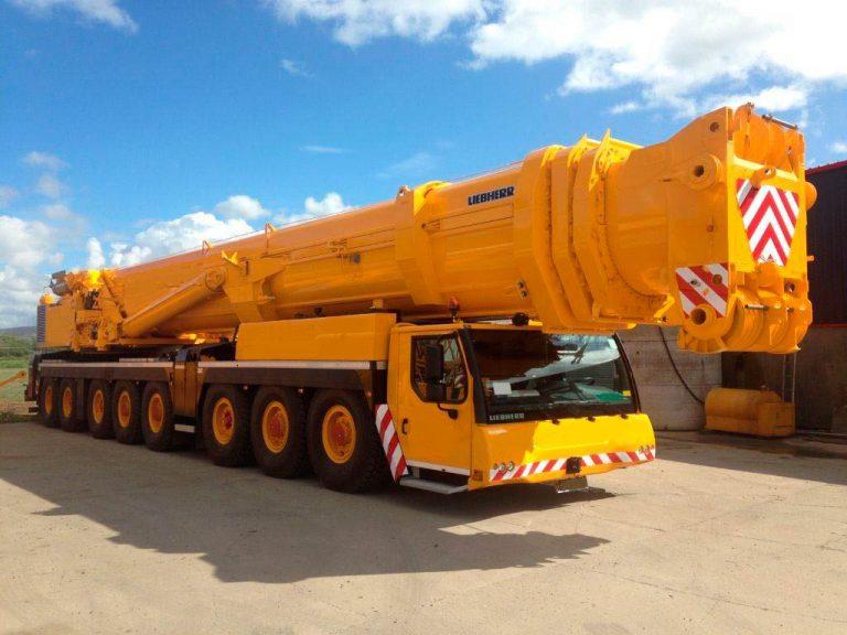 Автокран Liebherr  500 тонн 84 метра