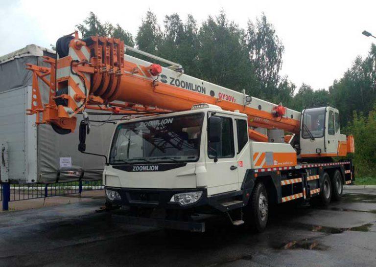 Автокран Zoomlion  25 тонн 39 метров